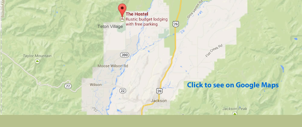 Getting to Jackson Hole WY - The Hostel